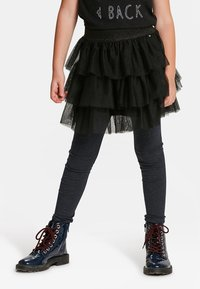 WE Fashion - A-line skirt - black - 0
