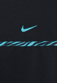 Nike Performance - CLSH  - Sports shirt - black/chlorine blue - 2