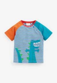Next - GOTS ORGANIC DINOSAUR STRETCH - T-shirt print - green - 1