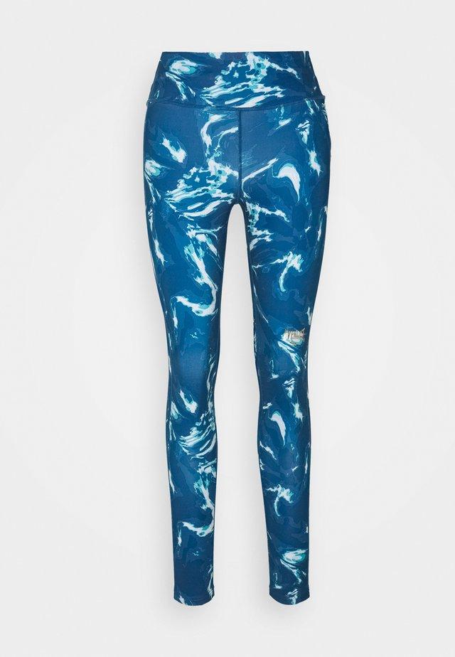 WOMEN AGATE - Leggings - blue