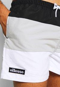 Ellesse - CIELO - Swimming shorts - black/grey/white - 3