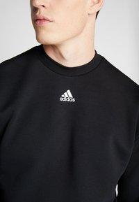 adidas Performance - CREW - Sweater - black/white - 5