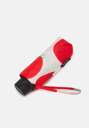 MINI MANUAL MANSIKKA UMBRELLA - Umbrella - off white/red/green