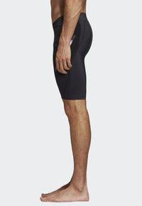 adidas Performance - ALPHASKIN TECH SHORT 3-STRIPES TIGHTS - Sports shorts - black - 2