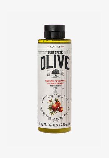 OLIVE & POMEGRANATE SHOWER GEL - Shower gel - -