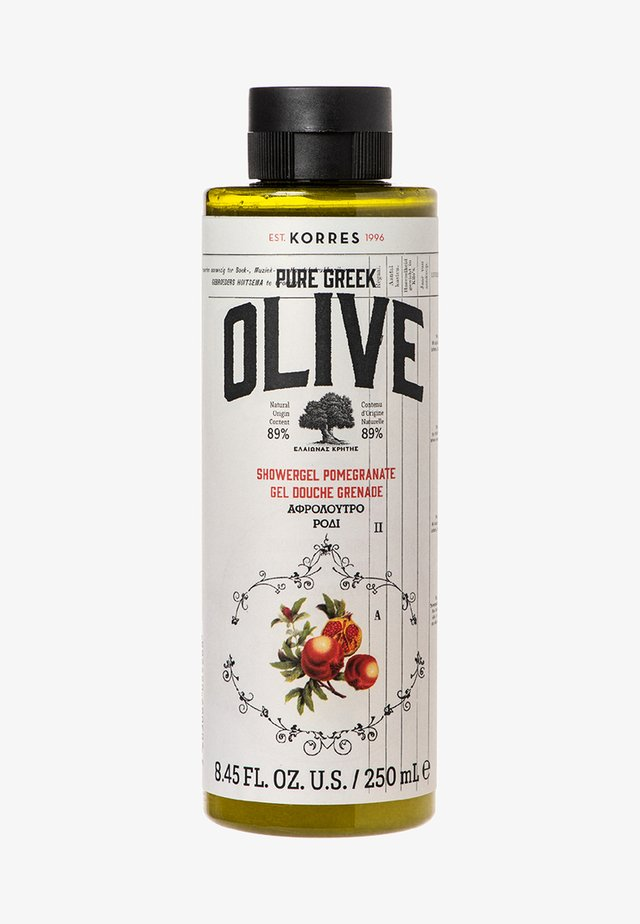 OLIVE & POMEGRANATE SHOWER GEL - Shower gel - -