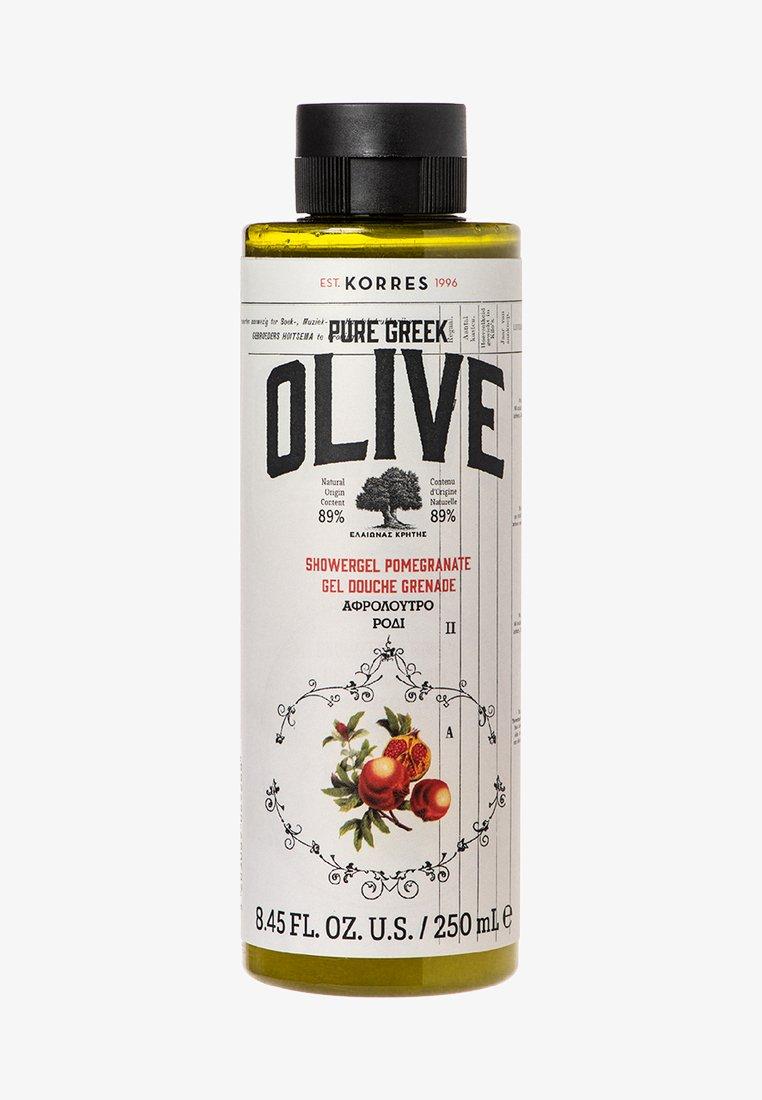 Korres - OLIVE & POMEGRANATE SHOWER GEL - Shower gel - -