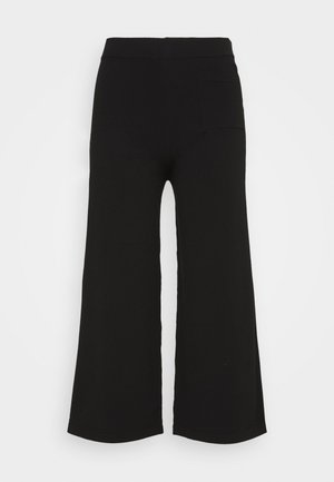 HEAVY PANT - Trousers - pure black
