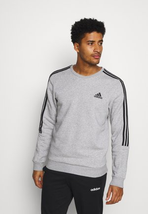 CUT - Sweatshirt - medium grey heather/black