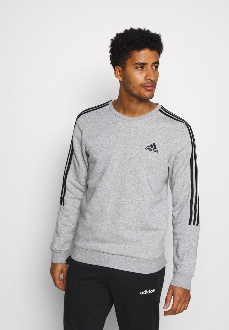 adidas Performance - CUT - Felpa - medium grey heather/black