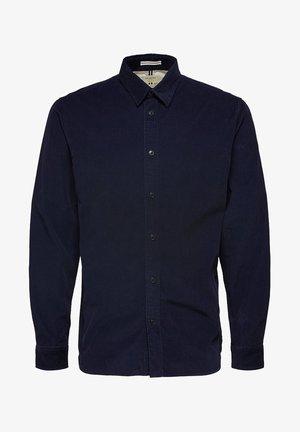 SLHREGHENLEY CAMP - Skjorta - maritime blue