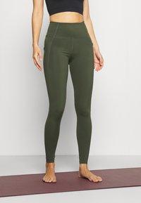Cotton On Body - ULTIMATE BOOTY FULL LENGTH - Leggings - khaki - 0
