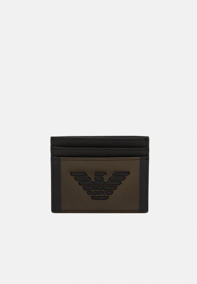 Emporio Armani - UNISEX - Plånbok - black/bronze