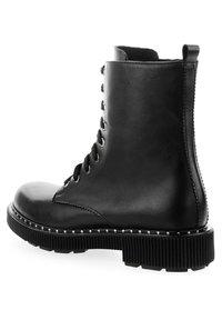 PRIMA MODA - CALESTANO - Lace-up ankle boots - black - 2
