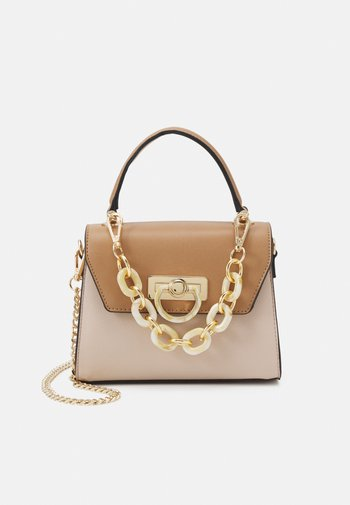 AGRUCLYA - Handbag - beige