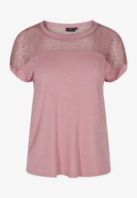 Zizzi - Print T-shirt - wistful mauve - 3