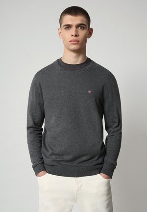 DECATUR - Maglione - dark grey melange