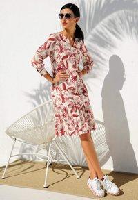 Alba Moda - Day dress - off white/rot - 3