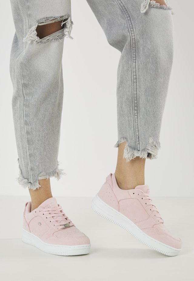JUNE - Sneakers laag - soft pink