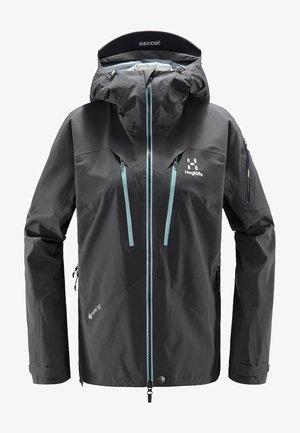 SPITZ JACKET - Waterproof jacket - magnetite