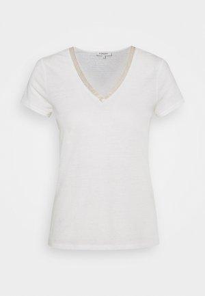 DORE - Print T-shirt - off whte