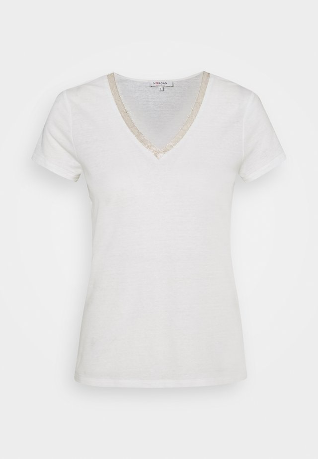 DORE - T-shirts med print - off whte