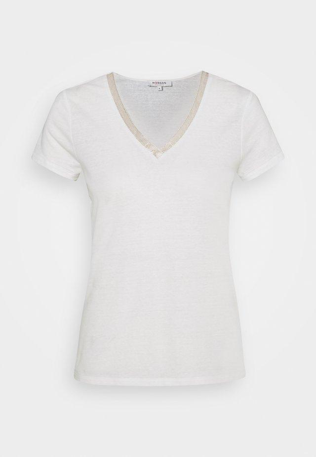 DORE - T-shirt imprimé - off whte