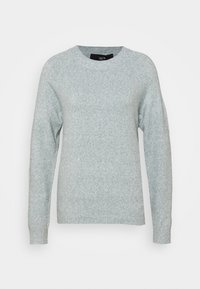 Vero Moda - VMDOFFY O NECK - Jumper - north atlantic/melange - 3