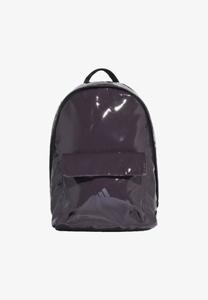 GLOSSY EFFECT CLASSIC BACKPACK - Rucksack - purple