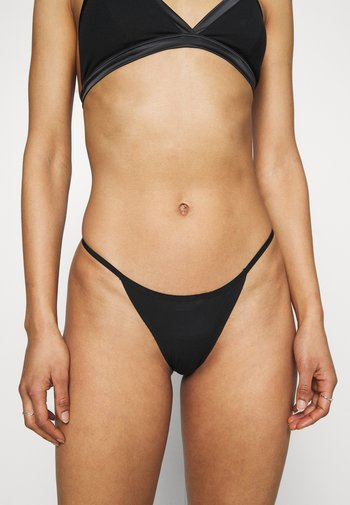 INVISIBLE 3 PACK - Thong - caviar