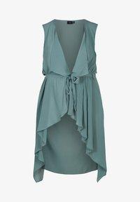 Zizzi - Waistcoat - green - 3