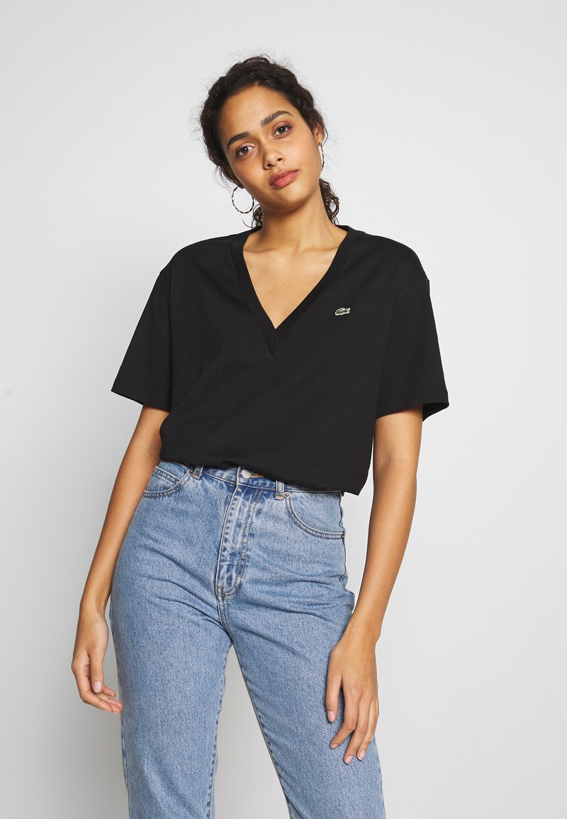 Lacoste - T-shirt basic - black