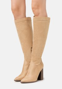 Even&Odd - High heeled boots - cognac - 0
