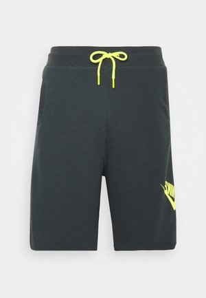 FESTIVAL ALUMNI - Short - dark smoke grey/volt/volt