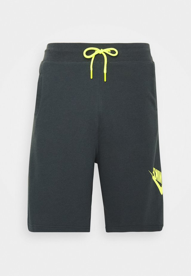 FESTIVAL ALUMNI - Shorts - dark smoke grey/volt/volt
