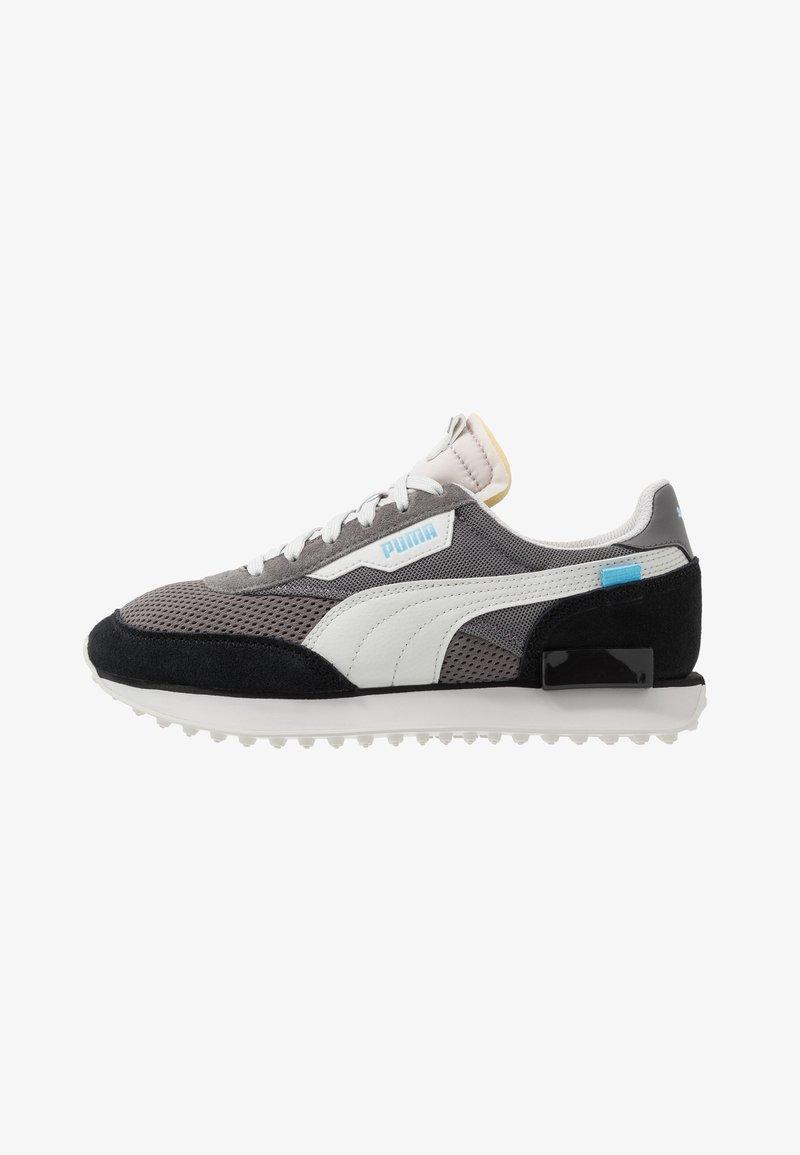 Puma - RIDER - Sneakers - black/castlerock