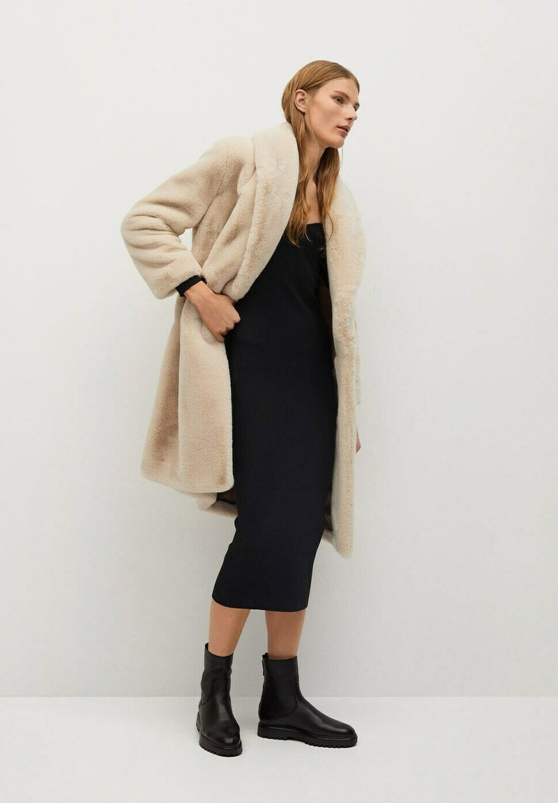 Mango - CHILLY - Classic coat - ecru