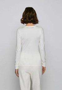 BOSS - C_ESABEL_ACTIVE - T-shirt à manches longues - natural - 2