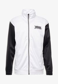 Vans - WINNER'S CIRCLE TRACK JACKET - Training jacket - black/white - 4