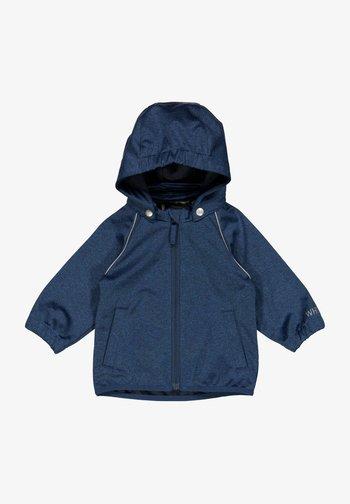 Light jacket - blue melange