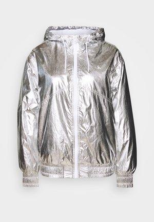 Giacca da mezza stagione - silver metallic