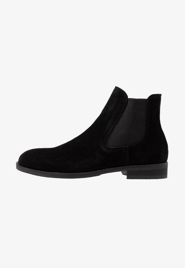 SLHLOUIS CHELSEA BOOT - Kotníkové boty - black