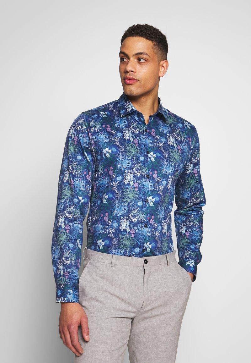 OLYMP - OLYMP NO.6 SUPER SLIM FIT  - Formal shirt - marine