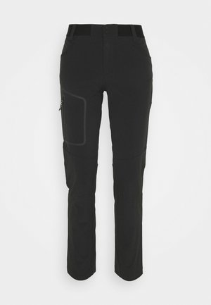 LIGHT SCALE PANT - Kangashousut - black