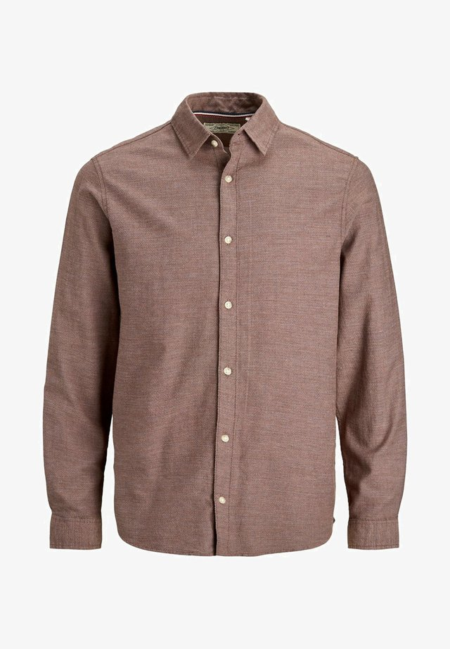 KLASSISCHES - Shirt - auburn
