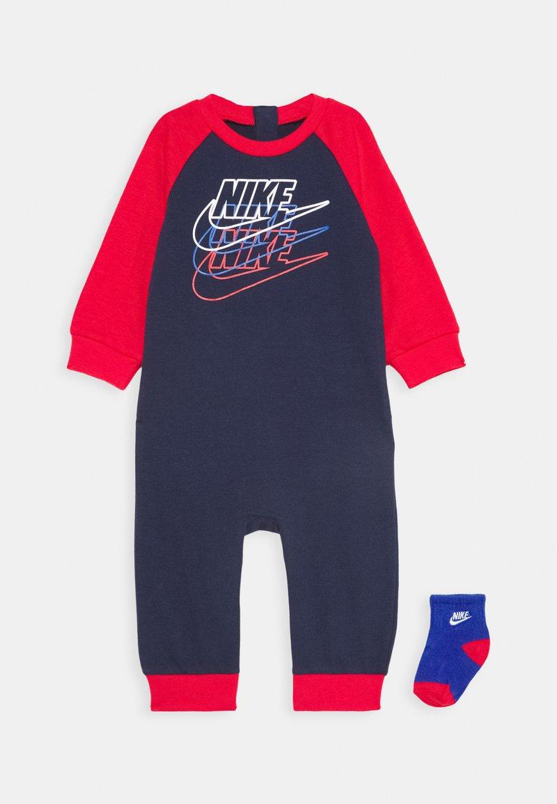 Nike Sportswear - FUTURA COVERALL SOCK ATTACHMENT - Jumpsuit - midnight navy