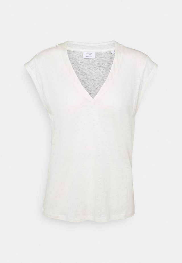 BOXY SHAPED SPECIAL - Basic T-shirt - offwhite