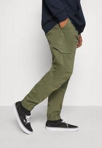 INDICODE JEANS - LEVI - Cargo trousers - army - 3