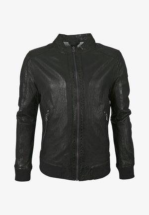 GBGRAHAN - Leather jacket - black