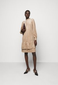 Marc Cain - Shirt dress - brown - 1
